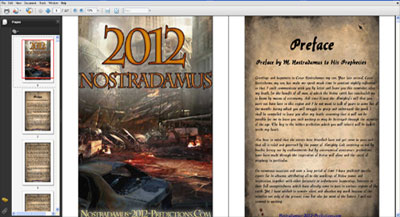 Nostradamus 2012 Predictions eBook - Collectors Special Edition - Screenshot 1